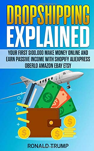 DROPSHIPPING EXPLAINED: Your first $100,000 Make money online in passive income with Shopify AliExpress Oberlo ETSY