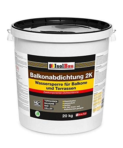 Captivating ISOL Diseño 20 Kg Balkonabdichtung Adhesivo De Contacto (de 2 K Sellado  Terraza Balcones Baño