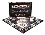 Monopoly Game of Thrones Board Game - Based on The Popular TV Show on HBO Game of Thrones - Themed Monopoly Board Game