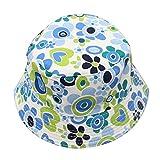 Kind Hut,SOPEAR Stilvolle Baby-Kind-Jungen-Mädchen-Eimer-Hut-Sommer Sun-Strand-Hut-Kappen-Sonnenschutz-Breathable für 2-6 Jahre alte Kinder blühen