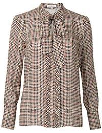 Amazon.fr   carreaux - Chemisiers et blouses   T-shirts, tops et ... 905e1c8c55f