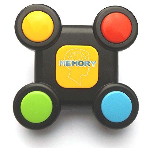 Memory Buzzer mit Licht & Sound, Memory Lernspielzeug für Kleinkinder, Motorik Spielzeug - 2