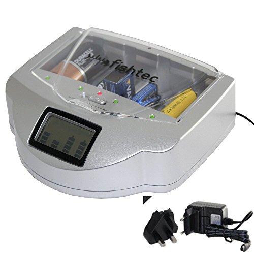Ladegerät Universal-Batterien C/D/AA/AAA/6LR61NiCd NiMH + Alkaline