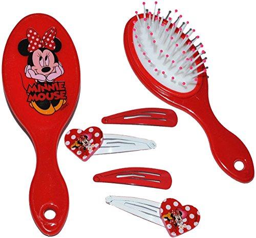 Haarspangen - für Mädchen / Kinder - Minnie Mouse - Hello Kitty - Princess Prinzessinnen - Schmuck Haarschmuck - Blumen rosa Accessoires Haarspange / Haarspangen - Haarclips (Hello Kitty Baby-artikel)