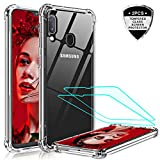 LeYi for Samsung Galaxy A20e Case with Tempered Glass