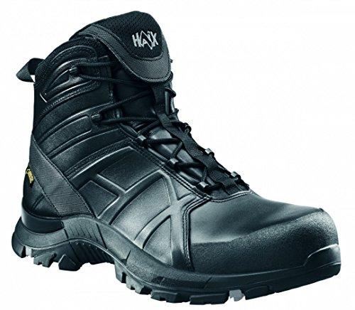 HAIX® Black Eagle Safety 50 Mid. Moderner S3-Lederschuh mit guter Schutzfunktion Gore-tex Boot-composite