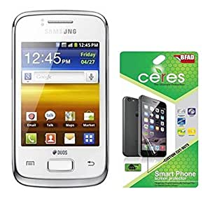 Ceres AquaShieldz Ultra Clear Screen Guard Protector For Samsung Galaxy Y Duos S6102 (Pack Of 2)