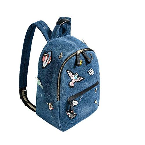 Imagen de sulmoe  bolso  de vaquero para mujer azul azul alternativa