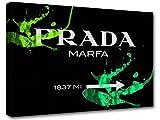 Bild Modern Art Prada Marfa Gossip Girl, bedruckt, Segeltuch 09–50x 70cm