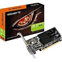 Gigabyte NVIDIA GeForce GT 1030 Low Profile 2G GDDR5 64 Bit Memory PCI Express Graphics Card - Black