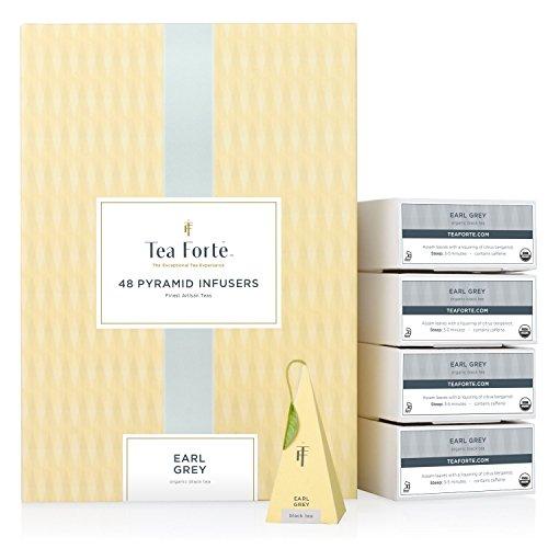 Tea Forte Organic Earl Grey - Event Box mit 48 Tee-Pyramiden by Tea Forté -