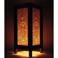 Raro Asia Thai lampada di tavole Buddha stile comodino Angelo per Tailandia - La Angels Gift Box