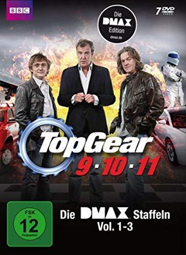 Top Gear - Staffel 9-11 - Die DMAX Staffeln Vol. 1-3 [7 DVDs] (Top Gear-serie 1)