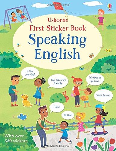 First Sticker Book. Speaking English