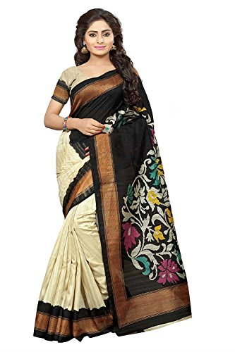 DivyaEmporio Women's Cotton Silk Saree (DEV-11440_Multi-colour)