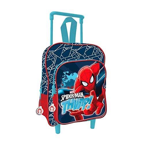 Spiderman zainetto per bambini, multicolore (multicolore) - as067