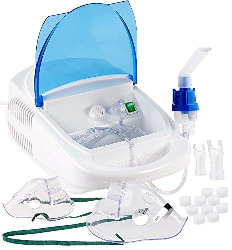 newgen medicals Inhaliergerät: Medizinischer Ultraschall Tisch-Inhalator für Erwachsene und Kinder (Ultraschall Tisch Inhaliergeräte)