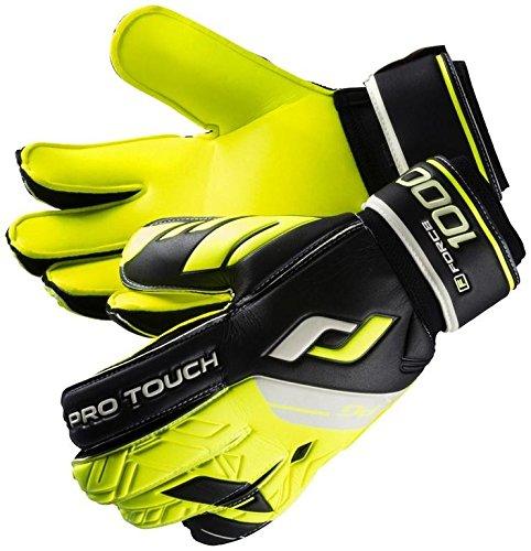 Pro Touch Herren Force 1000 Torwart-Handschuhe, Gelb, 10