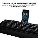 Logitech G910 Gaming Mechanische Tastatur mit RGB Orion Spectrum (Qwertz, deutsches Layout) schwarz - 7