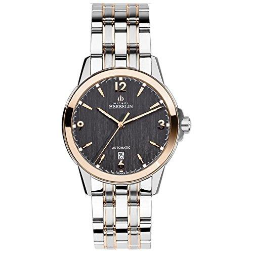 Michel Herbelin Ambassade Men's Automatic Watch Silver/4S 1650/Btr14