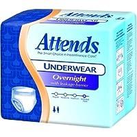 Attends? Absorbent Underwear Pull On Disposable Heavy Absorbency White Medium 32-44 Inch Waist/Hip CS/64 by Attends? preisvergleich bei billige-tabletten.eu