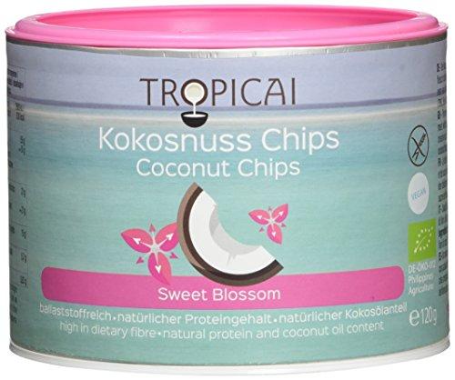 Tropicai Bio-Kokosnusschips Sweet Blossom, 3er Pack (3 x 120 g)