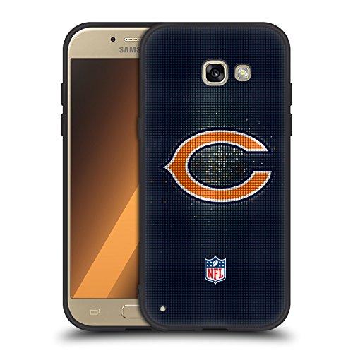 017/18 Chicago Bears Skinny Fit Hybrid Glasiert Hülle für Samsung Galaxy A5 (2017) (Chicago Bears-platten)