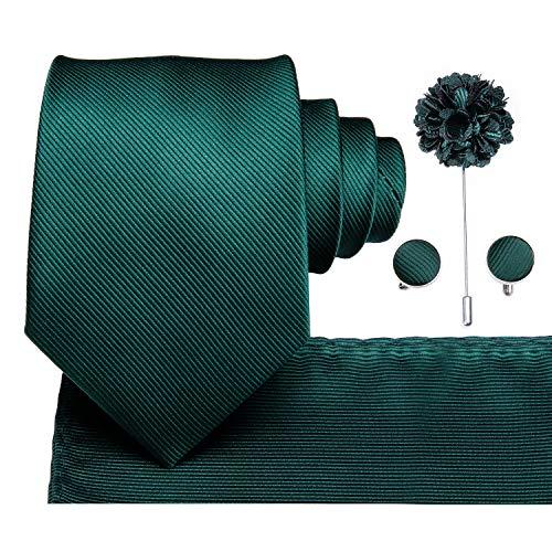Dubulle Dark Green Lapel Pin Flo...