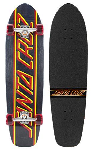 Santa Cruz Skateboard Longboard Classic Strip Jammer, 9.4 x 35.0 Zoll, SANLOBCLSTJA