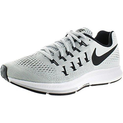 online store 39f0f ba995 Nike Air Zoom Pegasus 33 TB, Zapatillas de Running para Hombre, Plateado  (Plateado