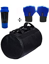 SOOPLE SPORTZ Gym Bag Combo Set Enclosed With Soft Leather Gym Bag For Men And Women For Fitness - Bag Size 49cm... - B07CSNRCM4