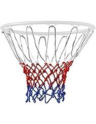 TRIXES 12 Loop Basketball Net Red/White/Blue Nylon
