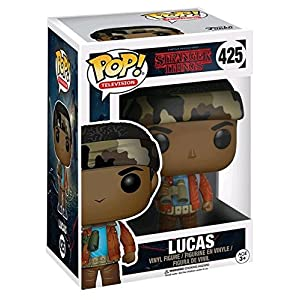 Pop Stranger Things Lucas Vinyl FIgure