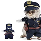 Best Dog Costumes - UEETEK Funny Dog Cat Jeans Uniform Pet Clothes Review