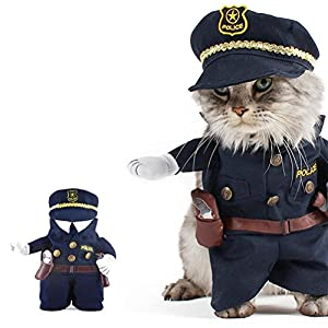 UEETEK-Funny-Dog-Cat-Jeans-Uniform-Pet-Clothes-Costume-Dress-Cosplay-for-Party-CanivalSize-Mwithin-10kg