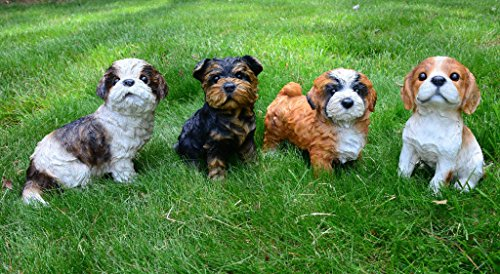 Michael-Carr-Designs-80090-Lhasa-Apso-Puppy-Diva-Statue-Small