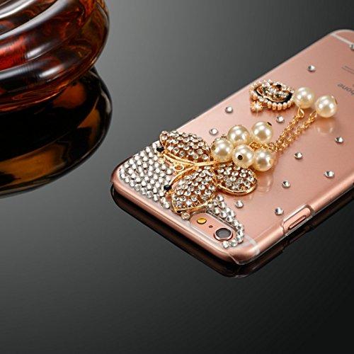 Phone case & Hülle Für iPhone 6 Plus / 6s Plus, Diamond Encrusted Bling Crown Pattern PC Schutzhülle Back Cover ( SKU : IP6P1003E ) IP6P1003B