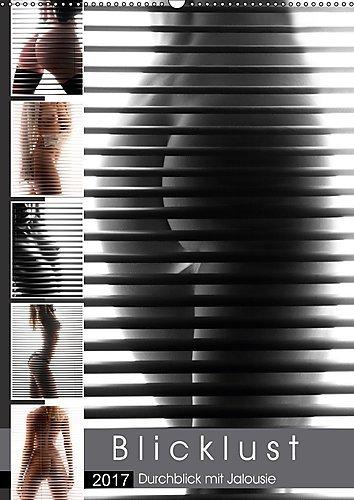 Preisvergleich Produktbild Blicklust (Wandkalender 2017 DIN A2 hoch): Die Lust des Voyeurs am Durchblick durch eine Jalousie (Monatskalender, 14 Seiten ) (CALVENDO Menschen)