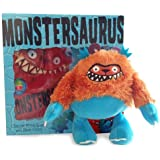 Monstersaurus Book and Toy