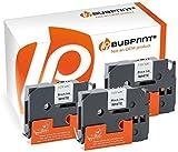 Bubprint 3 Schriftbänder kompatibel für Brother TZE-211 TZE 211 für P-Touch 1280 2430PC 2730VP 3600 9500PC 9700PC D400VP D600VP H100LB H105 P700 P750W