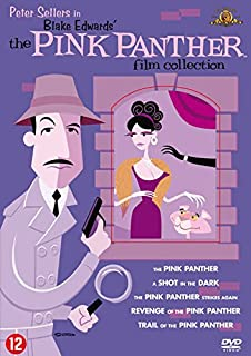 The Pink Panther 5-DVD Collection ( The Pink Panther / A Shot in the Dark / The Pink Panther Strikes Again / Revenge of the Pin