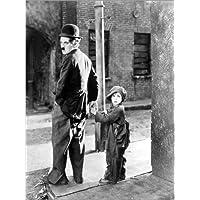 Cuadro sobre lienzo 90 x 120 cm: THE KID, Charles Chaplin, Jackie Coogan, 1921 de Everett Collection - cuadro terminado, cuadro sobre bastidor, lámina terminada sobre lienzo auténtico, impresión en...