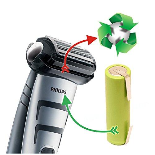Premium-Akkutausch Bodygroomer BG2024 BG2026 BG 2036 R36#92 R45#54 TT2040/32 Trim Shave *Akkutauschen.de ist ausgezeichnet mit dem Qualitätssiegel Werkstatt N des Rates für Nachhaltige Entwicklung*