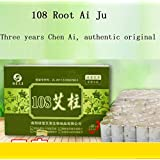 AMYMGLL 3 años Chen Ai 108 moxa roll Stick moxibustion Especial moxa moxibustion bar 17 * 27mm