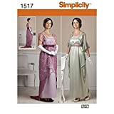Best Simplicity Costumes - Simplicity Costume Pattern 1517 Misses Edwardian Style Dresses Review