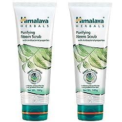 Himalaya Herbals Purifying Neem Scrub, 100g (Pack of 2)