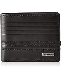g.s.m. Europe–BILLABONG–Cartera para hombre Phoenix Snap Wallet, Chocolate, One size, z5lw03bif619