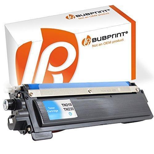 Bubprint Toner kompatibel für Brother TN-230 TN-230C TN230 TN230C TN 230C für DCP-9010CN HL-3040CN HL-3070CW HL-3075CW MFC-9120CN MFC-9320CW Cyan - Mfc9320cw Drucker Brother