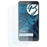 Bruni Schutzfolie für Samsung Galaxy Note 3 Neo (SM-N7505) Folie - 2 x glasklare Displayschutzfolie