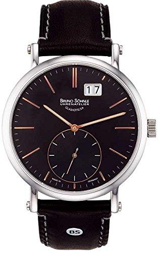 Bruno Söhnle Men's Quartz Watch with Lago Analogue Quartz Leather 17–13095–745